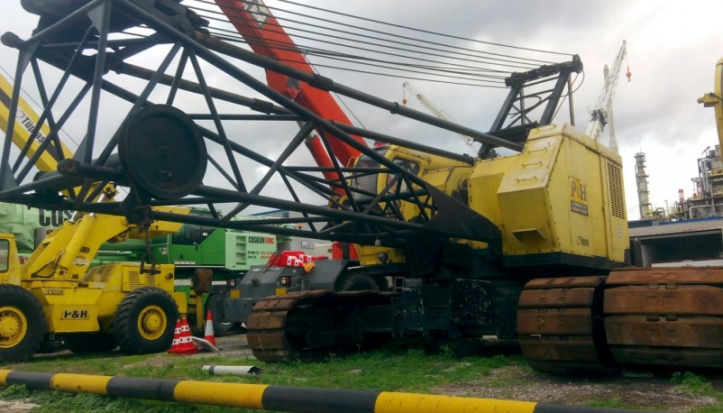 P&H 670-WLC Lattice Boom Crawler Crane For Sale