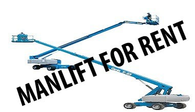 Manlift for rent